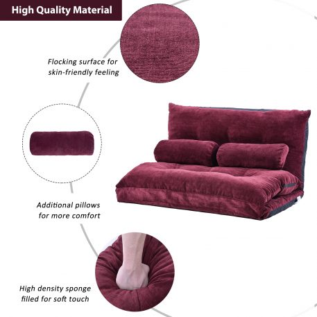 Lounge Sofa With Two Pillows