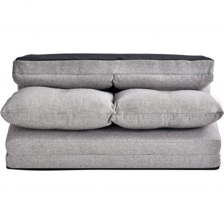 Fabric Folding Chaise Lounge Floor Sofa