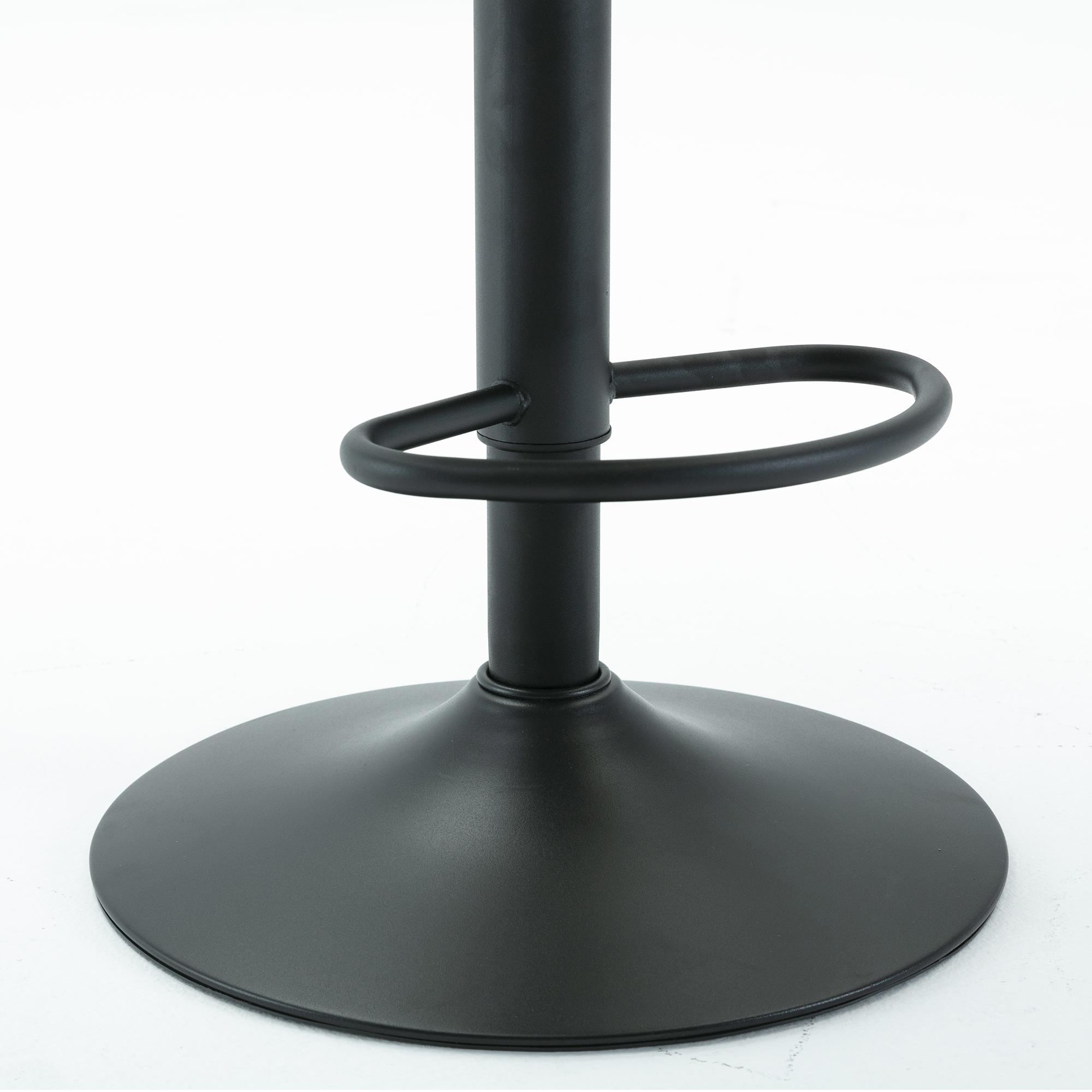 Contemporary /Adjustable Bar Stools,Set Of 2