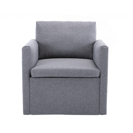 Accent Chiar With Modern Linen Fabric