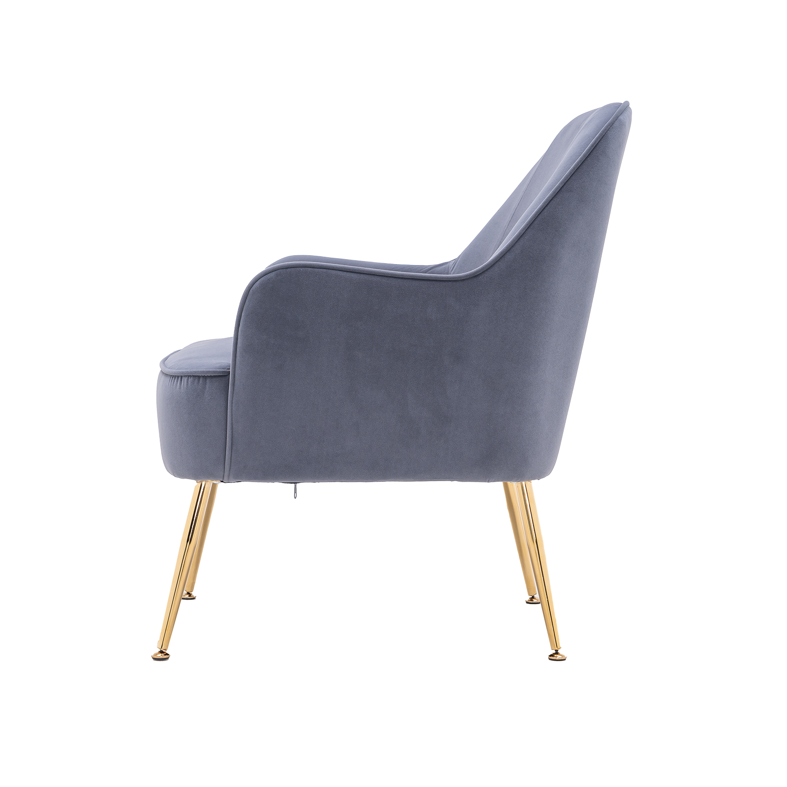 """26\\\\\\\\\\\\\\\\\\\\\\\\\\\\\\\\\\\\\\\\\\\\\\\\\\\\\\\\\\\\\\\"""" Velvet Accent Chair with Gold Metal Legs"""