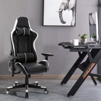 Ergonomic Gaming Chair White