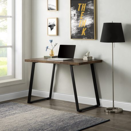 Industrial PC Writing Desk, Vintage Study Table