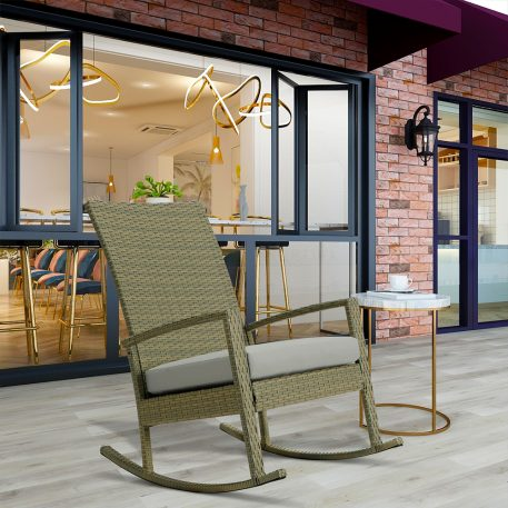 Garden Rocking Chair Rattan Chair