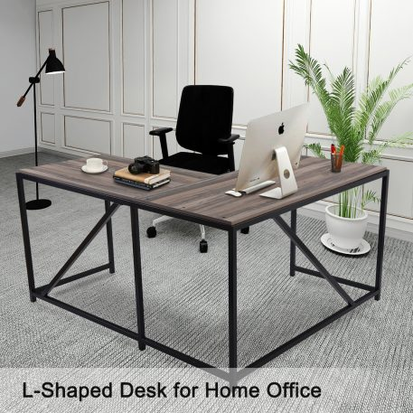 L Shaped Home Office Computer Desk  With Modern Style And MDF Board