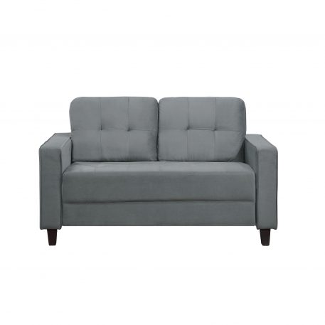 Morden Style Upholstered Sectional Sofa Set, 2 Seat
