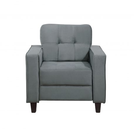 Morden Style Upholstered Sectional Sofa Set, 1 Seat