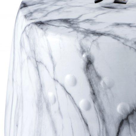 White Ceramic Garden Stools 4058