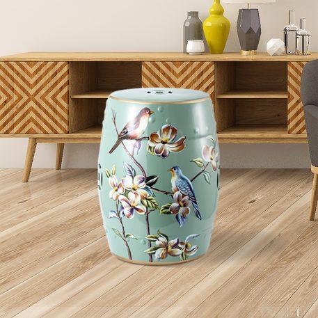 Chinese Ceramic Garden Stools 4076