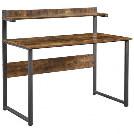 Morden Simple Style Study Table With Hutch