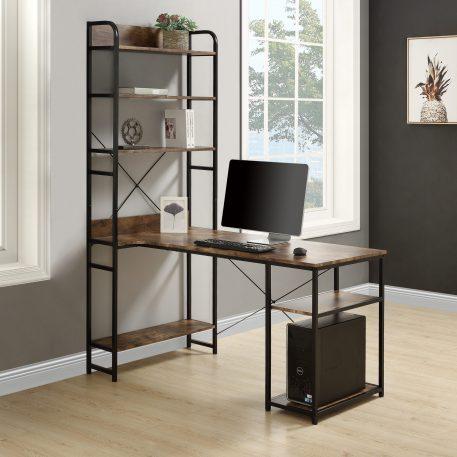 Home Office Computer Desksteel Frame And MDF Board