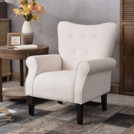 Modern Wing Back Accent Chair