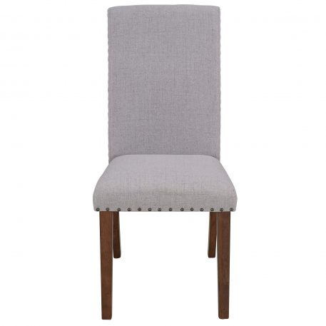 Fabric Dining Chairs, Set Of 2