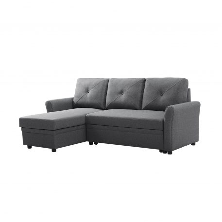 3-Seater L-Shape Corner Couch With Storage