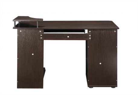 Computer Desk With Movable CPU Holder