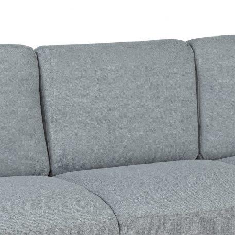 3-Seat Sofa Living Room Linen Fabric Sofa