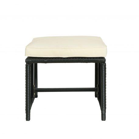 5-Piece Rattan Outdoor Patio Furniture Set