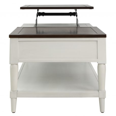 Coffee Table With 1 Drawer And Shelf