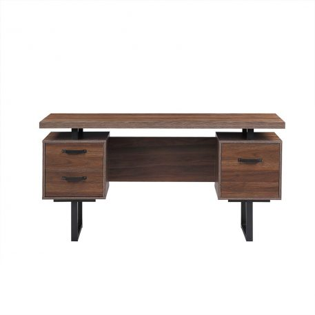 """59"""" Writing Study Table With Drawers"""