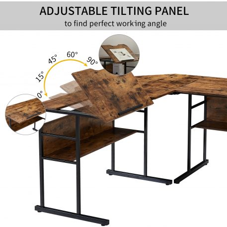 """67"""" Multi-function Drafting Drawing Table"""