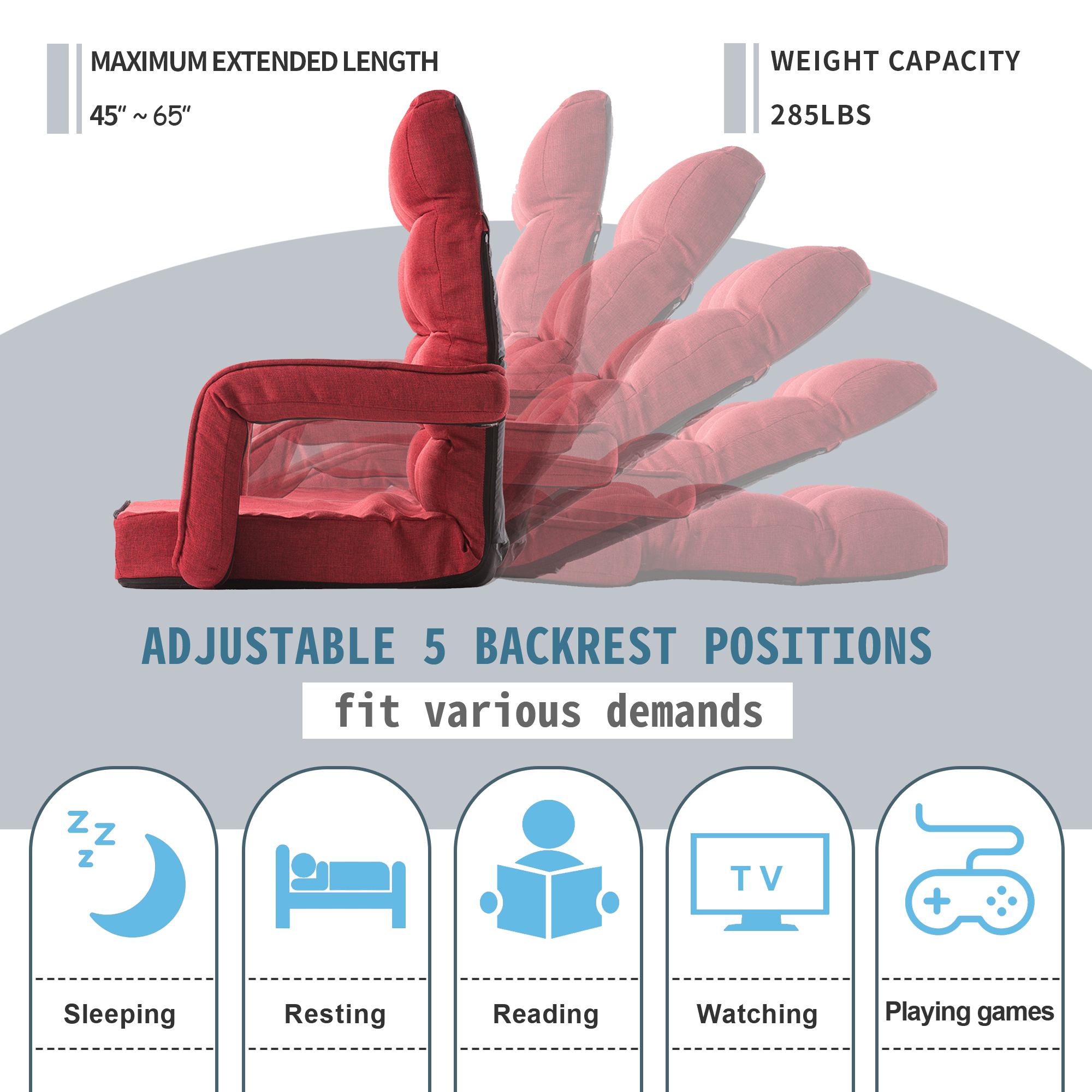Folding Lazy Floor Chair