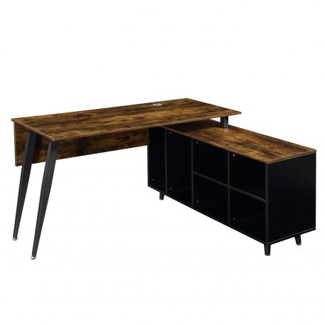 Large Executive Office Desk With Cabinet