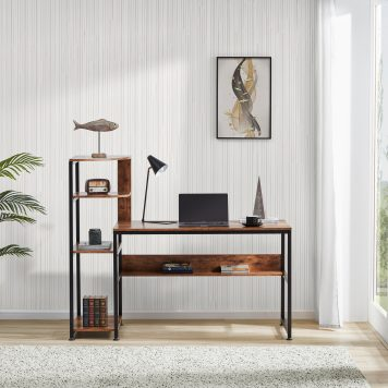 """59"""" Large Modern Office Desk Study Writing Table"""