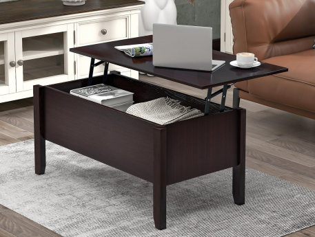 Modern Lift-Top Coffee Table With Storage