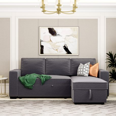 """91.5"""" Reversible Pull-Out Sleeper"""