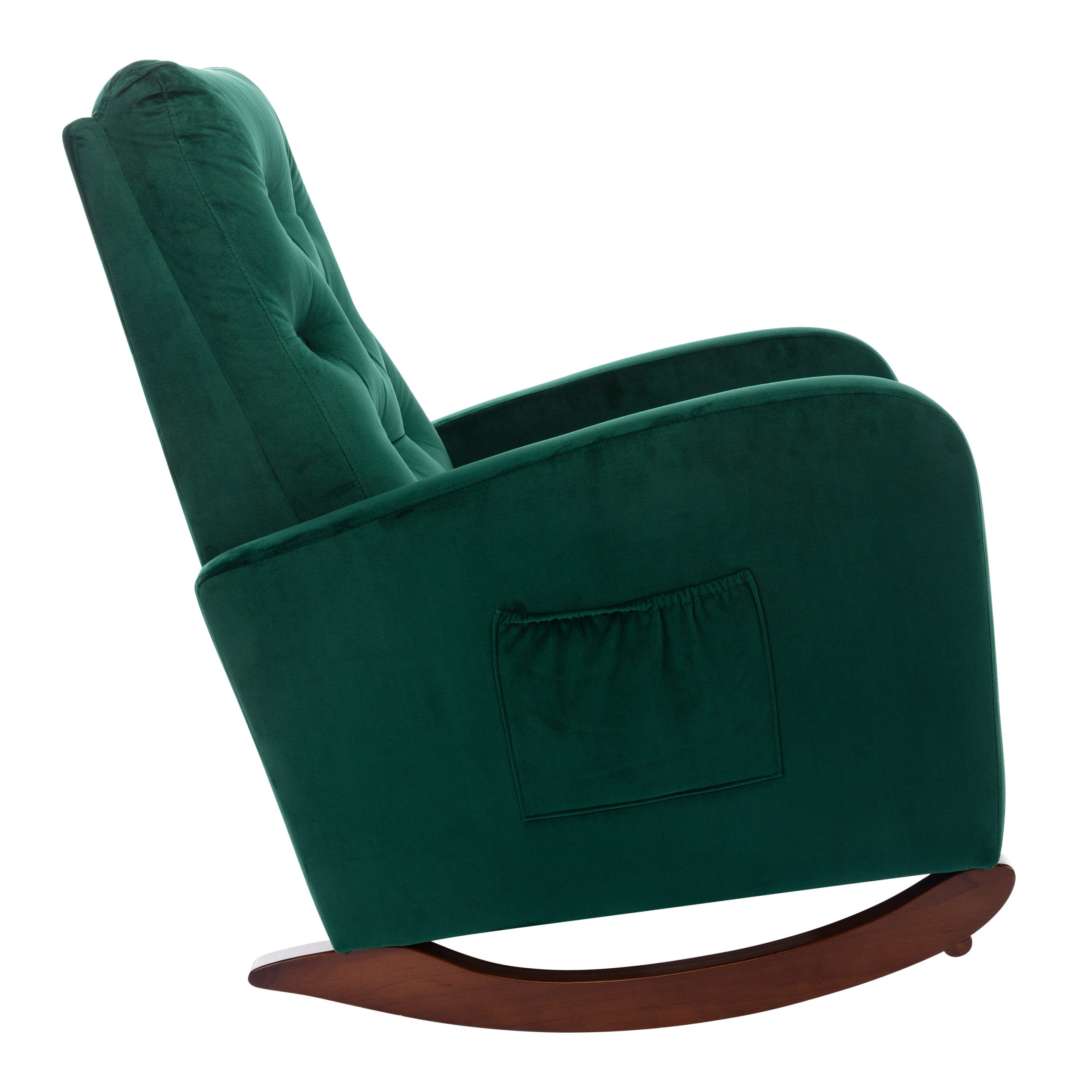 Comfortable High Back Rocking Chair