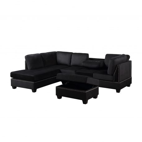 L-shape Couch For Small Or Large Space