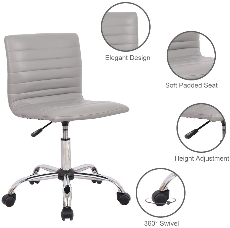 Mesh Table Chair With Foot Ring Dark Black