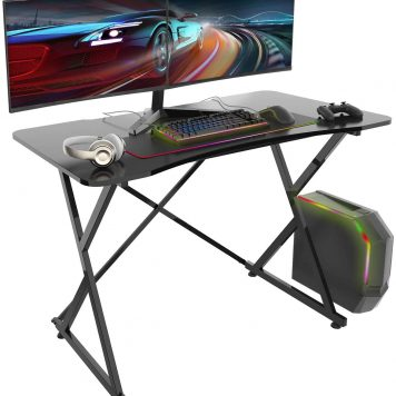 """43"""" PC Computer Gaming Desk"""