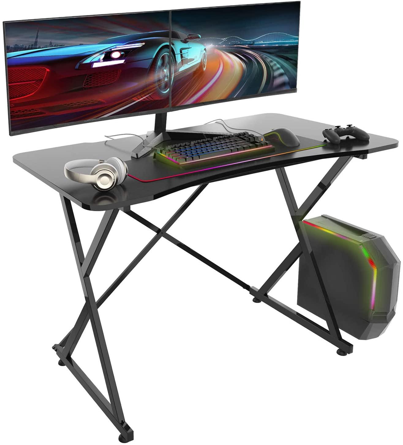 "36"" Converter Gas Spring Stand Up Computer Desk"