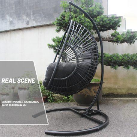 High Quality Outdoor Indoor Wicker Swing Egg Chair