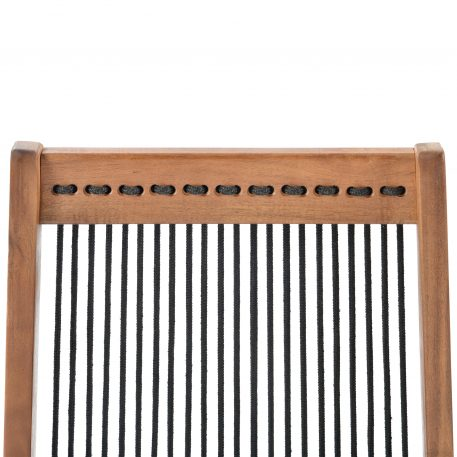 Folding Roping Wood Chair