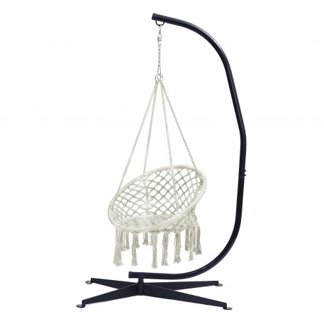 Indoor or Outdoor Hammock Chair With Stand