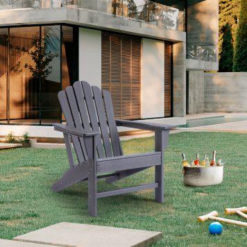 Plastic Classic Outdoor Adirondack Chair