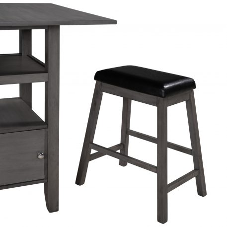 4 Pieces Outdoor Furniture Rattan Set