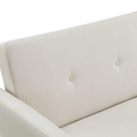Upholstered Modern Convertible Folding Futon Sofa Bed